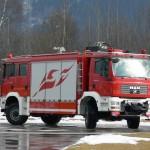 Im Praxistest: ein Tunnellöschfahrzeug mit Spezialwendegetriebe von ZF
