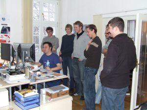 Exkursion zum Onlinespiele-Hersteller CipSoft