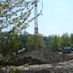 Bauarbeiten am Zentrum für Medien und Kommunikation