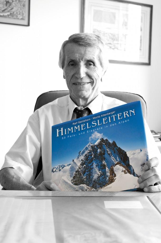 Prof. Dr. Walter Schweitzer und sein Lieblingsbuch
