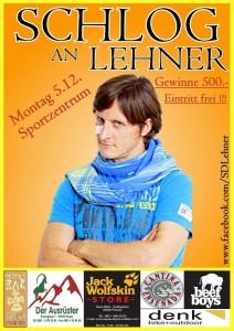 Plakat von Schlog an Lehner