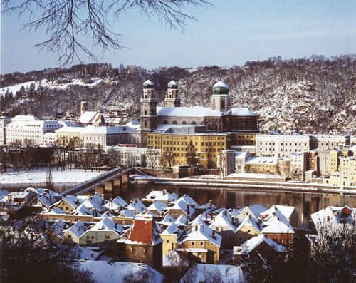 Passau im Winter