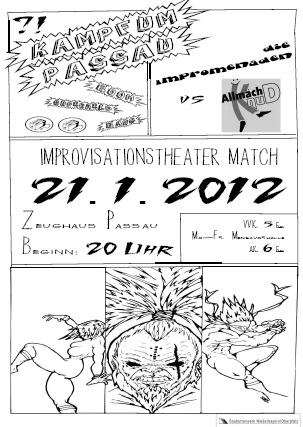 Improvisationstheater: Kampf um Passau