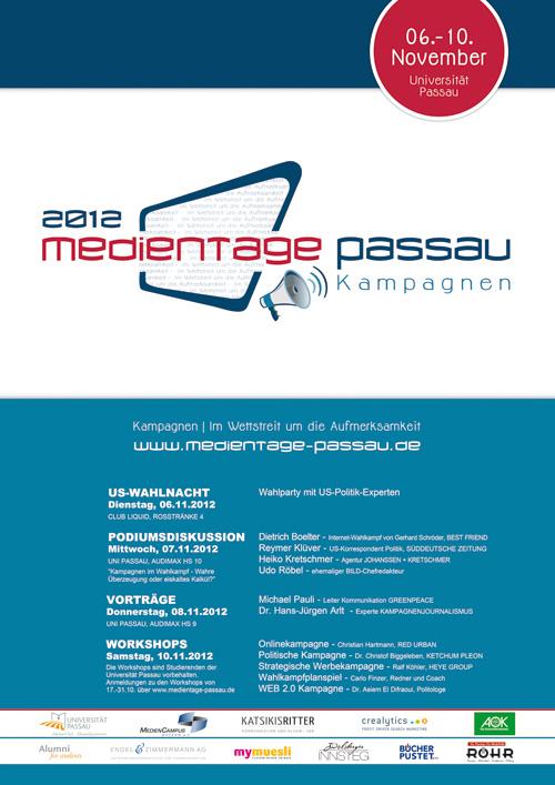 Logo Medientage Passau 2012