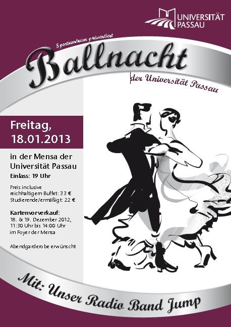 Ballnacht an der Universität Passau