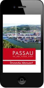 Passau App (Quelle: Pressemitteilung Stadt Passau)