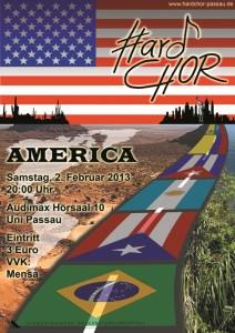 Konzertplakat AmericaKonzertplakat America