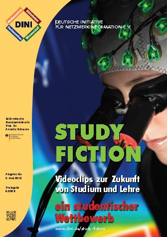"Plakat zum Wettbewerb ""Study Fiction"""