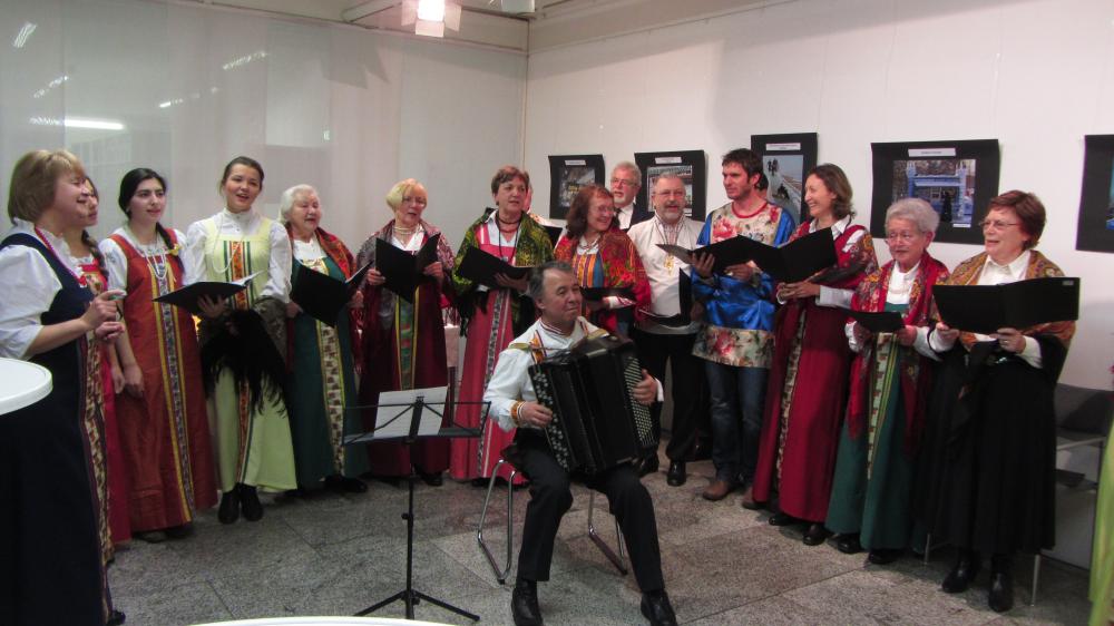 Sibirienwoche: traditionelle Lieder mit dem Chor der Deutsch-Russischen Gesellschaft