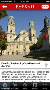 Dom in der Passau App