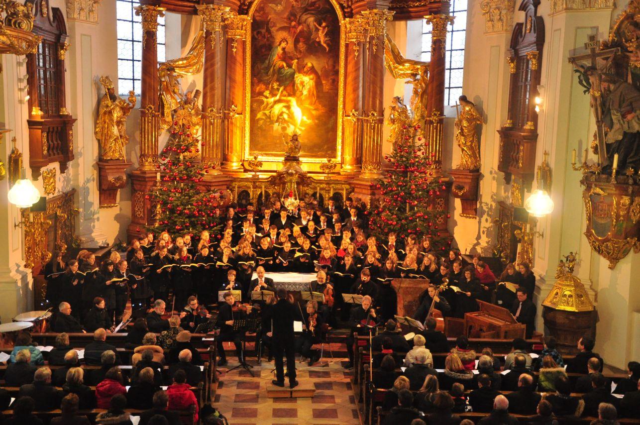 Konzert des Passauer Studentenchors in Vilshofen