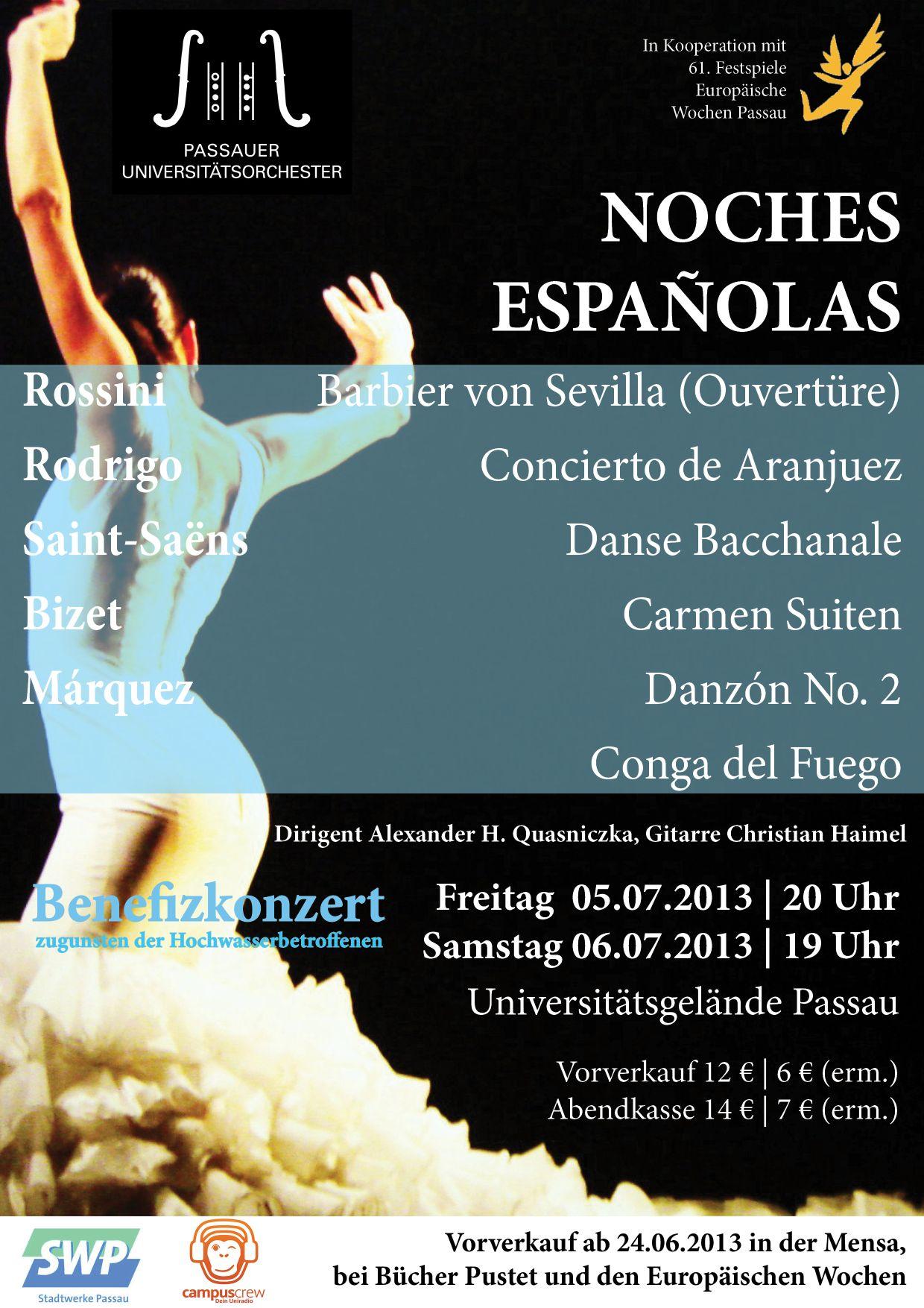 Benefizkonzert des Passauer Universitätsorchesters