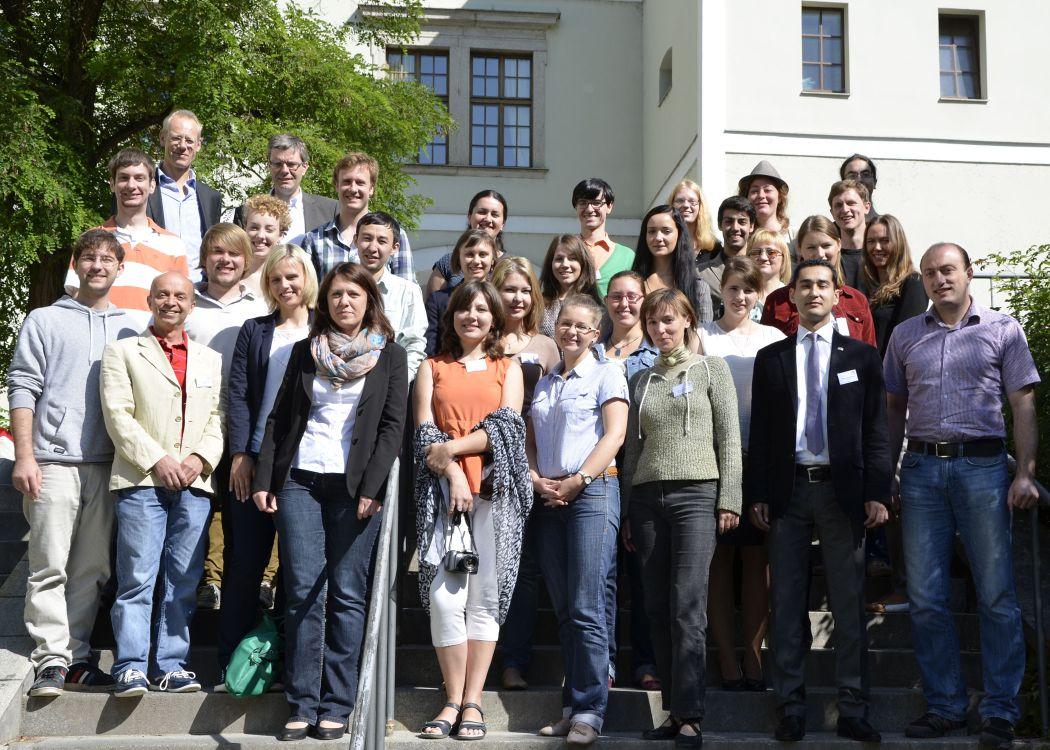 Teilnehmer der DAAD Sommerschule 2013 an der Universität Passau