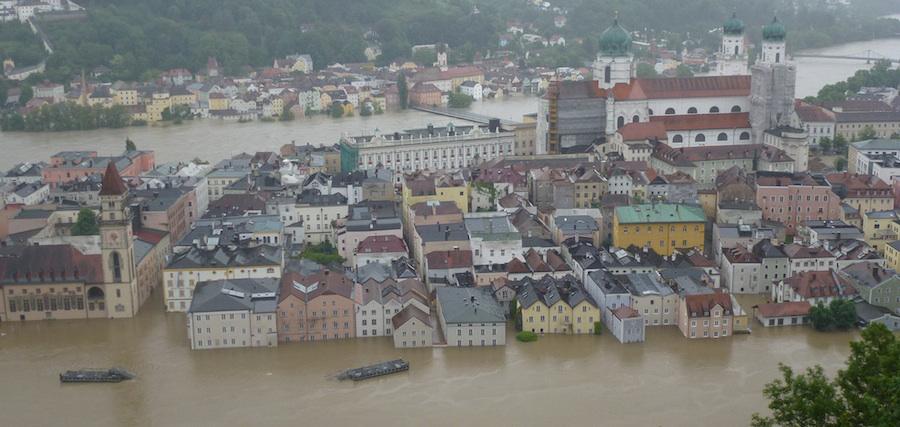 überschwemmtes Passau