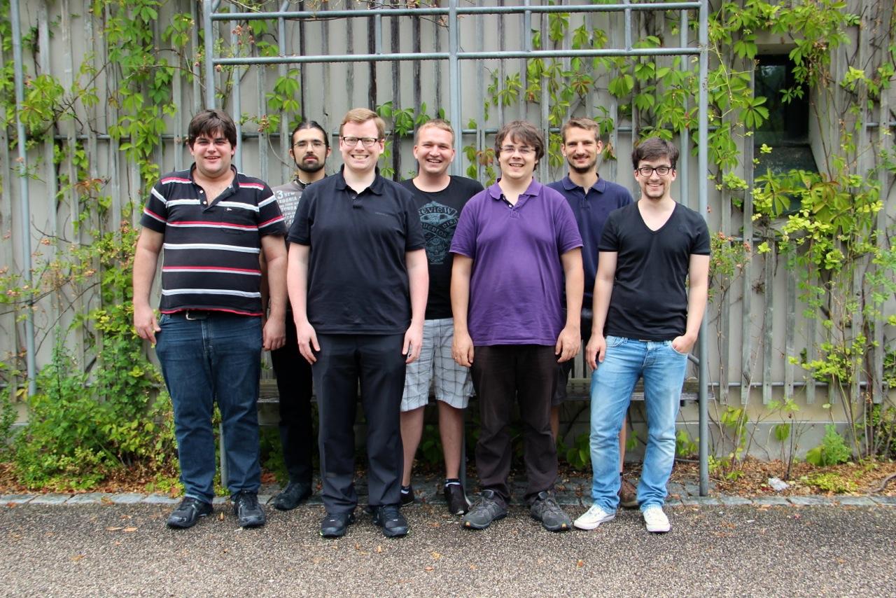 """7 der 17 Gründungsmitglieder des """"Computerverein Passau"""""""