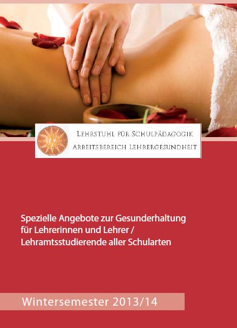 Flyer:Lehrergesundheit an der Universität Passau
