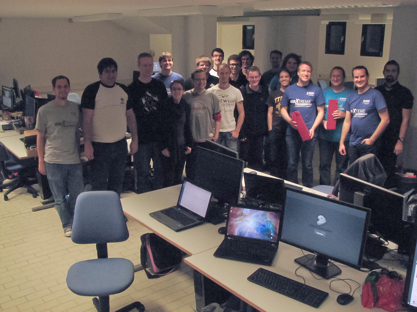 IEEEXtreme Teilnehmer