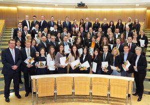 Absolventenfeier der Wirtschaftswissenschaftlichen Fakultät