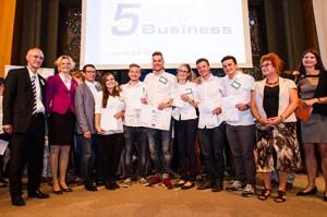 5-Euro-Business Wettbewerb 2014