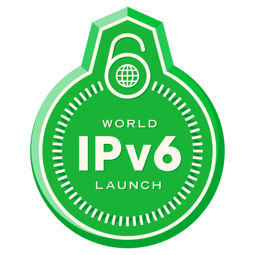 Logo des World IPv6 Launch Day