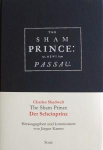 "Buchcover ""The Sham Prince"""