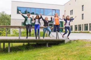 Sprung ins Studentenleben