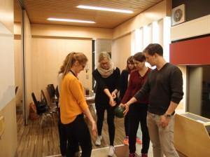 Teambuilding am Zentrum für Schlüsselkompetenzen