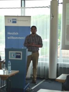 Carlos Garcia, Absolvent der Universität Passau und erfolgreicher Entrepreneur