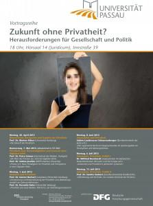 Zukunft ohne Privatheit? Herausforderungen für Gesellschaft und Politik