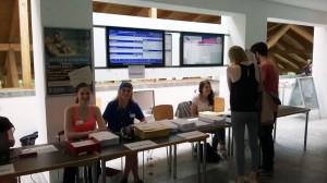 Der Briefwahlstand in der Mensa ist am 8. und 9. Juni von 11-14 Uhr besetzt.