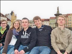 Studierende des Bohemicum
