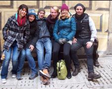 Studierende des Bohemicums