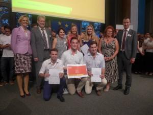 Geschäftsidee zur Unterstützung der Nepalhilfe den Sieg beim 5-Euro-Business-Wettbewerb geholt. Foto: Universität Passau