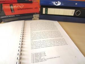 Wissenschaftlliches Schreiben - eine Herausforderung