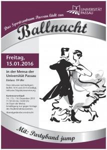 Ballnacht Plakat