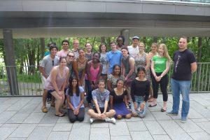 US-amerikanische Jugendliche besuchen die Universität Passauim Rahmen des Summer Abroad-Programms.