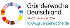 Gründerwoche Deutschland vom 14. bis 20. November 2016 www.gruenderwoche.de