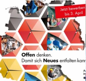 """Wettbewerb """"Ausgezeichnete Orte im Land der Ideen 2017"""""""
