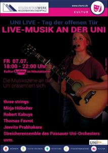 Theater, Tanz und Musik in der Kulturcafete!