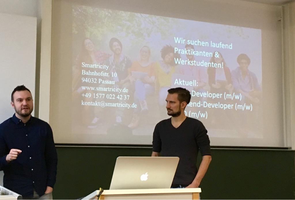 Michael Hasler und Sebastian Henneberg