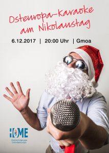 Plakat zur Osteuropa-Karaoke
