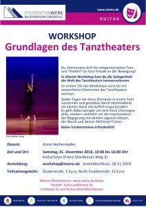 Poster des Workshops