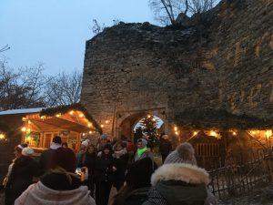 Ausflug zur Hilgartsberger Burgweihnacht