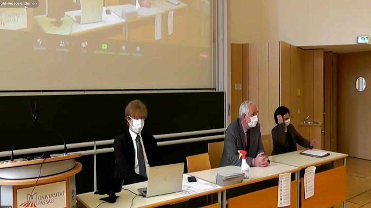 Prof. Dr. Michael Beurskens, Prof. Dr. Ulrich Bartosch, Prof. Dr. Bettina Noltenius