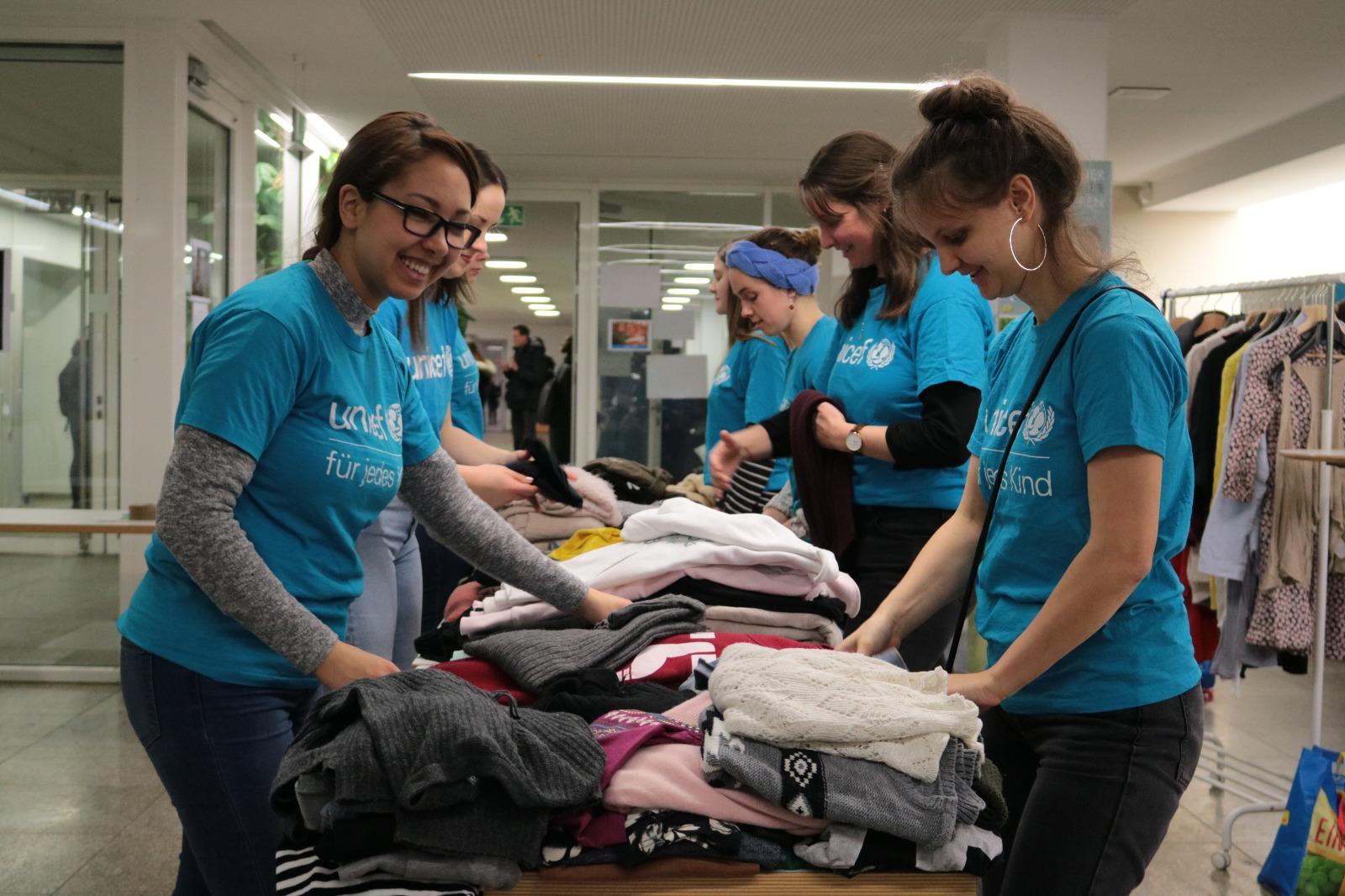 UNICEF Kleidertausch